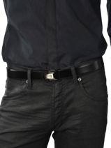 Ceinture Ajustable Azzaro Noir belts Z1321339-vue-porte