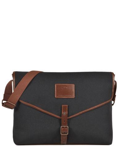 Longchamp S@fari sur Seine Serviette Noir