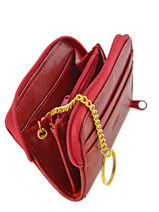 Wallet Leather Spirit Red medium 6526-vue-porte