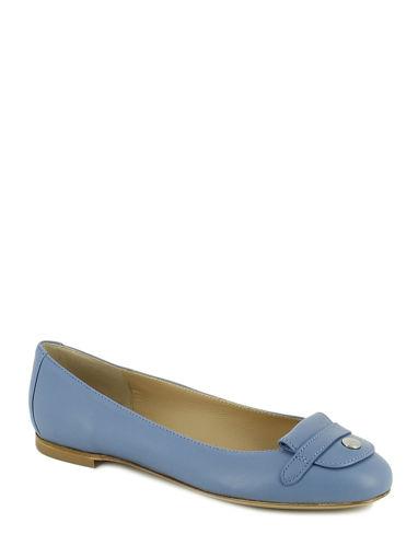 Longchamp Le pliage cuir Chaussures femme Bleu