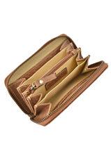 Porte Monnaie Leather Burkely Brown wieske 870722-vue-porte