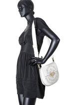 Crossbody Bag Club Leather Furla White club CLU-BKE5-vue-porte