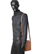 Crossbody Bag Etrier Brown 69301-vue-porte
