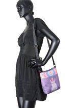 Shoulder Bag Jasmine Apache Teo jasmin Brown jasmine apache JAS630AP-vue-porte