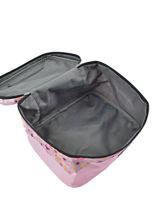 Beauty Case Teo jasmin Pink racing JAS641RA-vue-porte