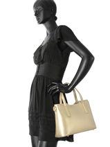 Top Handle Palma Leather Milano Gold palma PA15116-vue-porte