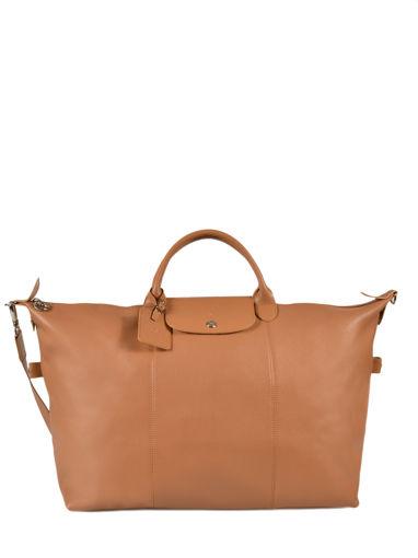 Longchamp LE FOULONNÉ BICOLORE Travel bag Beige