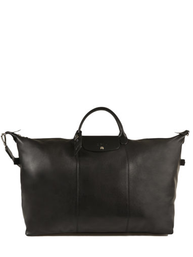 Longchamp LE FOULONNÉ BICOLORE Travel bag Black