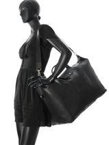 Longchamp Le foulonné Travel bag Black-vue-porte