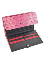 Continental Wallet Hexagona Pink eclat 287625-vue-porte