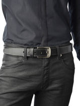 Belt Adjustable Katana Black atlanta C0013-vue-porte