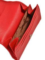 Longchamp Le pliage cuir Coin purse Blue-vue-porte