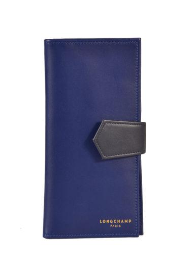 Longchamp Longchamp 2.0 Portefeuille Bleu