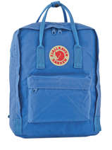 Backpack 1 Compartment Fjallraven Blue kanken 23510