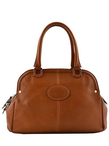 Longchamp Mystery Sac porté main Marron
