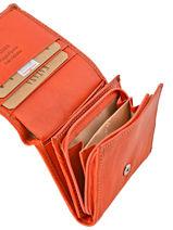 Purse Leather Katana Orange basile 853108-vue-porte