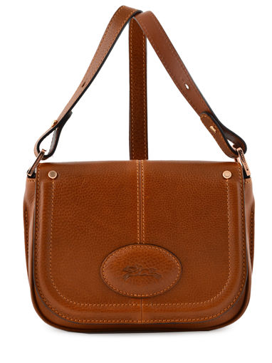 Longchamp Mystery Sac porté travers Marron