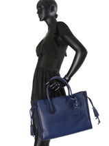 Longchamp PÉNÉLOPE FANTAISIE Handbag Blue-vue-porte