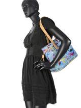 Sac Shopping Jean Miniprix Bleu jean NZ9681-vue-porte