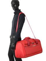 Travel Bag Dynamo Samsonite Red dynamo 80D006-vue-porte