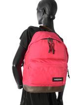 Backpack 1 Compartment Eastpak Red pbg authentic PBGK811-vue-porte
