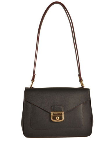 Longchamp Le pliage héritage Hobo bag Black