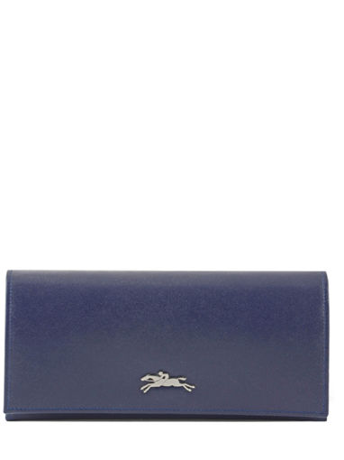 Longchamp Honoré 404 Wallet Blue