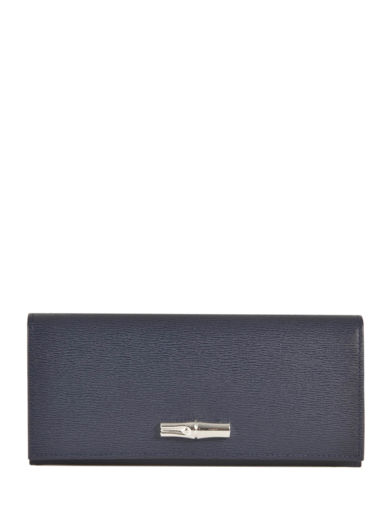 Longchamp Wallet Blue