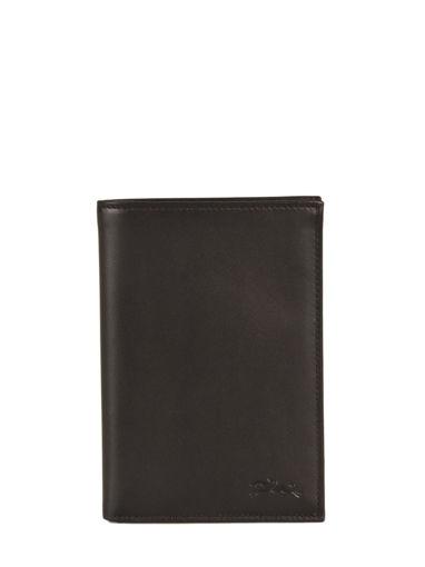 Longchamp Baxi cuir Portefeuilles Noir