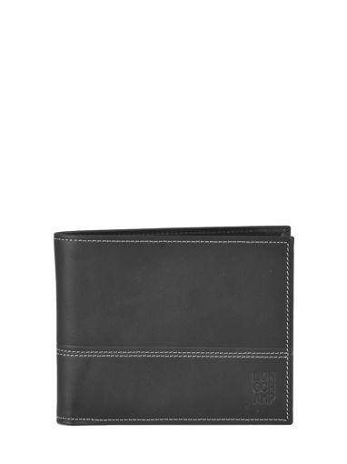 Longchamp Cavalier Porte billets/cartes Noir