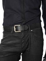 Ceinture Homme Cuir Redskins Noir belt 15982-vue-porte