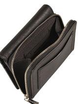 Wallet Leather Michael kors Black jet set travel F6STVF2L-vue-porte