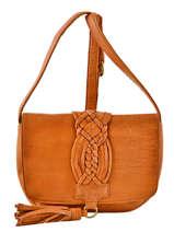 Crossbody Bag Kristin Leather Pieces Brown kristin 17081972