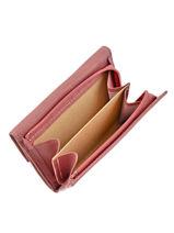 Porte Monnaie Leather Etrier Pink blanco 600802-vue-porte