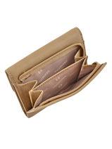 Purse Leather Hexagona Beige sauvage 417467-vue-porte