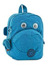 Backpack Mini Kipling Blue back to school 8568