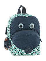 Sac à Dos Mini Kipling Bleu back to school 8568