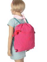 Sac De Sport Kipling Rose back to school 9487-vue-porte