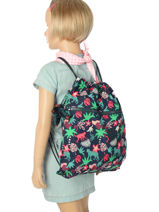 Sac De Sport Kipling Multicolore back to school 9487-vue-porte