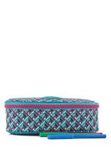 Trousse 1 Compartiment Kipling Multicolore back to school 12908-vue-porte