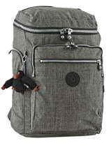 Sac A Dos 2 Compartiments Kipling Gris back to school 16199