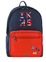 Backpack Ikks Blue union jack russel 63854