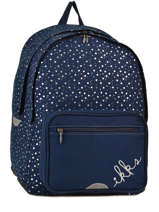 Backpack Ikks Blue st germain des pres 63822