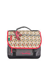 Satchel 2 Compartments Cameleon Pink new basic NBA-CA35