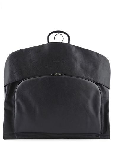 Longchamp Le foulonné Garment case Black