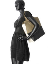 Shoulder Bag Furla Beige dori DRI-BKR9-vue-porte