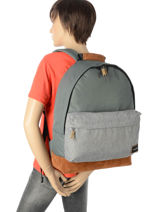 Backpack 1 Compartment Quiksilver Gray youth access + QYBP3409-vue-porte