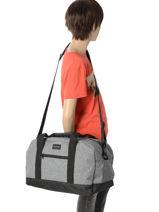 Cabin Duffle Luggage Quiksilver Black luggage QYBL3097-vue-porte
