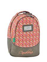 Backpack 2 Compartments Cameleon Gray retro RET-PRI