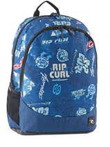 Sac à Dos 2 Compartiments Rip curl Bleu heritage logo BBPIX4